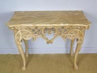 Early 19th Century Italian Console Table Sienna Marble Top (4 of 9)