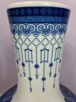 Huge Pair of 20th Century Chinese Blue & White Vases (4 of 9)