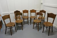 Harlequin Set of 8 French Bistro or Cafe Bentwood Chairs (5 of 7)