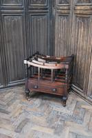 Rosewood Canterbury/ Magazine Rack by Holland & Sons (2 of 6)