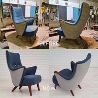 Danish Design 1960s, Restored Armchair, Nevotex Furniture Wool (14 of 14)