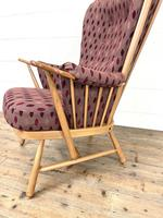 Vintage Ercol Evergreen Two Seater Sofa & Armchair (7 of 10)