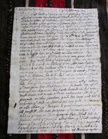 1704 Hand Written Letter by John Aylward Importer Exporter in Sea Trade