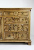 Geometric Oak Dresser Base (4 of 14)