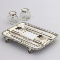 Quality Silver Inkstand with Twin Inkbottles by Elkington & Co. 1898 (10 of 12)