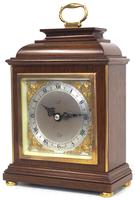 Perfect Vintage Mantel Clock Caddy Top Bracket Clock by Elliott of London Retailed by Malory of Bath (10 of 12)