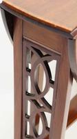 Edwardian  Inlaid Mahogany  Oval Sutherland Table (11 of 13)