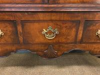 Burr Walnut Dome Topped Bookcase (11 of 18)