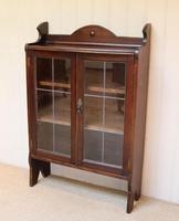 Oak Glazed Bookcase (4 of 10)