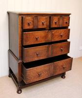 Solid Oak Chest of Drawers (5 of 10)