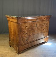 Large Louis Philippe Walnut Commode (11 of 12)