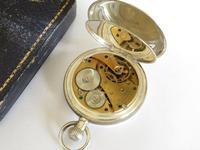 Antique Silver Waltham Full Hunter Pocket Watch (5 of 5)