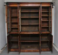 Early 19th Century Pollard Oak Bookcase (12 of 13)