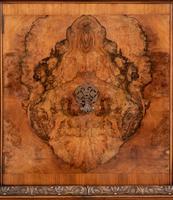 Stunning Walnut 3 Door Side Cabinet (8 of 9)