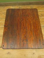 Small Industrial Antique Vono Cart Trolley Coffee Table with Bakelite Castors (17 of 17)