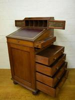 Victorian Mahogany Davenport attributed to Gillow (9 of 12)