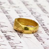 The Ancient 9th - 11th Century Gold Michael Ring (3 of 4)