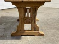 Great Rustic French Bleached Oak Coffee Table (15 of 25)