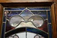 Victorian Art Nouveau Stained Glass Panel Door (2 of 9)