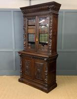 Imposing Carved Oak Bookcase (23 of 23)