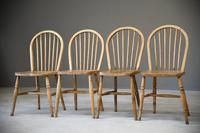 4 Beech & Elm Kitchen Chairs (8 of 12)