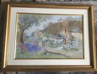 Richard Wane Watercolour - Our Cottage (2 of 2)