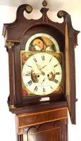 Fine English Longcase Clock Radcliff Elland 8-day Grandfather Clock with Moon Roller Dial (14 of 27)
