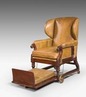 19th Century Invalids' Chair, Stamped J. Ward (3 of 8)