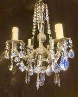 Four Light French Antique Chandelier (3 of 5)