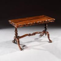 Mid 19th Century Shaped Rosewood Coffee Table (2 of 9)