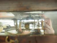Great Antique German Twin Walnut 8-Day Mantel Clock Vienna Striking Wall Clock (6 of 11)
