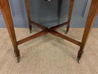 Edwardian Walnut Oval Occasional Table (13 of 13)