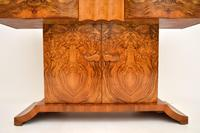 Art Deco Burr Walnut Console Table by Hille (6 of 12)