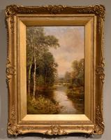 "Oil Painting by John Bonny ""Swans on the Water"" & ""Ducks on the Mill"" (5 of 8)"