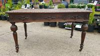 Quality Victorian Oak Writing Desk (10 of 12)