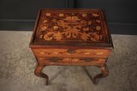 Dutch Marquetry Walnut Cabinet (10 of 10)