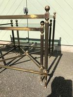 Quality Nest of 3 Brass Tables (4 of 8)