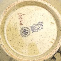 Attractive & Good Royal Doulton Stoneware Motto Ware Lidded Bowl - Tea c.1915 (7 of 8)