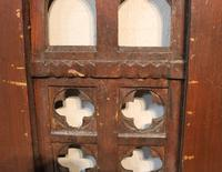 2 Lengths of 19th Century Gothic Arched Panelling (5 of 9)