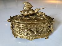 Napoleon III Animalier Bronze Jewel Casket