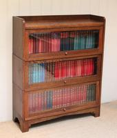 1920s Oak Stacking Bookcase (3 of 9)
