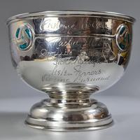 Rare Arts & Crafts Liberty & Co HM Silver & Enamel Cymric Bowl c.1905- Signed (14 of 14)