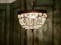 French Empire Style Crystal Basket Chandelier (16 of 19)