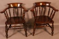 Set of 4 Victorian Captains Chairs (2 of 7)