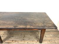 Early 19th Century Oak Kitchen Table (8 of 12)