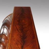 Edwardian Mahogany Inlaid Cylinder Bureau (12 of 12)