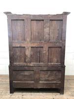 Large Antique 18th Century Welsh Oak Press Cupboard (M-808) (18 of 18)