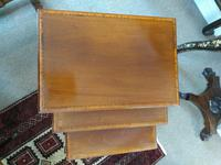 Edwardian Inlaid Mahogany Nest of Tables by Waring & Gillow Ltd (2 of 5)