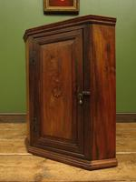 Antique Georgian Elm Corner Cabinet of Modest Proportions & Lovely Character (10 of 13)
