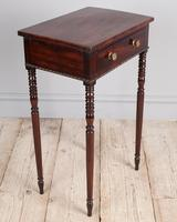 Regency Mahogany Side Table (7 of 7)